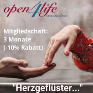 Herzgeflüster – 3 Monate Mitgliedschaft (-10%)