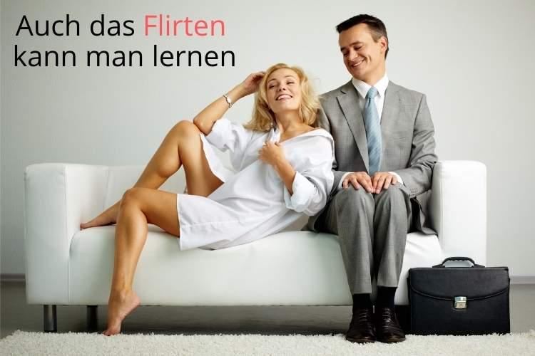 Auch das Flirten kann man lernen