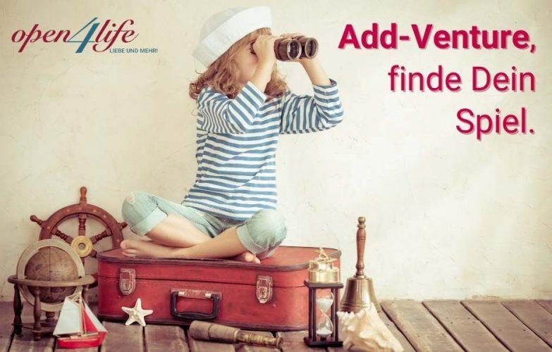 Add-Venture, finde Dein Spiel